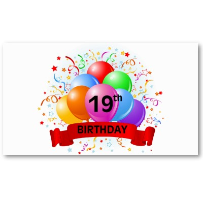 19 bday